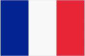 Drapeau français Conception française