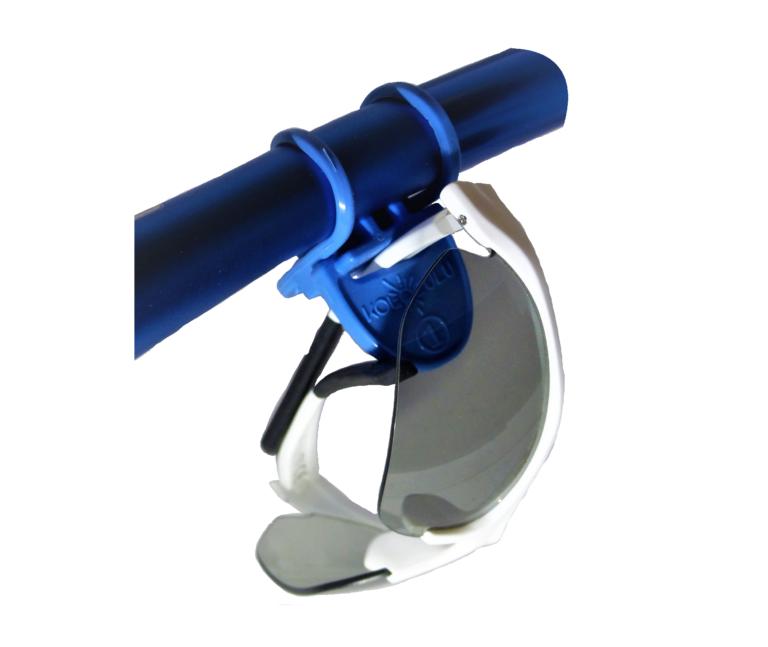 Systeme de maintien de lunettes de vélo KOlolulu